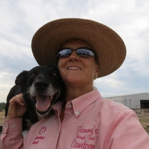 Drought Year 2012 on a 100+ degree afternoon...My Beloved Hawk...Momma Dog.  Mother of seven litters of pups from Cowdog Daddy Bert. May she have angels wings to fly to meet up with Bert. I love you Hawk.